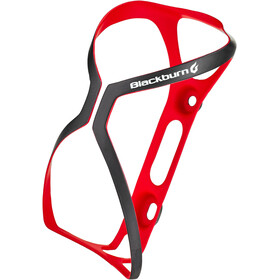 Blackburn Cinch Carbon Bottle Holder matte red